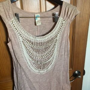 Anthropologie Sleeveless Blouse Size Small